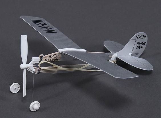 Gummiband Powered Freeflight Spirit of St.Louis 291mm Span
