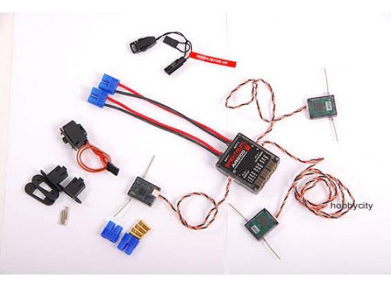 AR9100 DSM2 9Ch Power Receiver