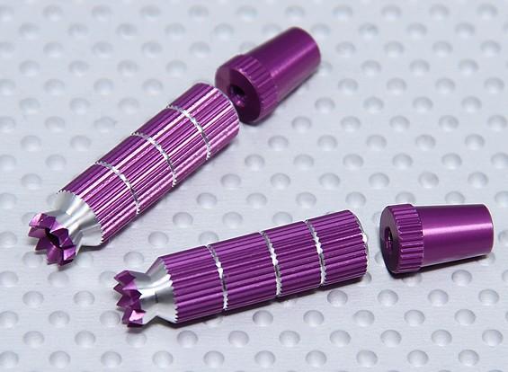 Alloy Anti-Rutsch-TX Steuerknüppel Long (JR TX Purple)