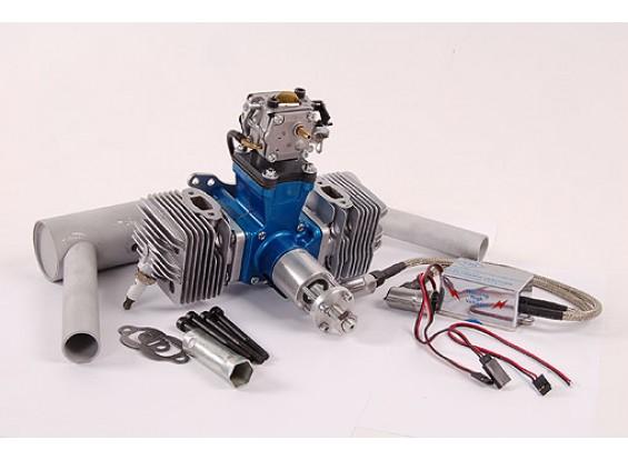 SV 50ccm Twin Gasmotor CDI 3.13kW AUSVERKAUF