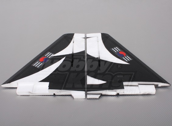 T-50-WING BLK Main Wing Set