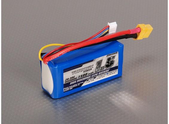 Turnigy 1500mAh 3S 20C Lipo-Pack