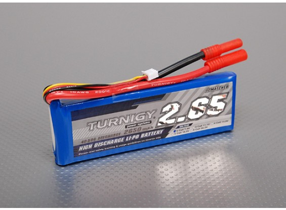 Turnigy 2650mAh 2S 40C Lipo-Pack