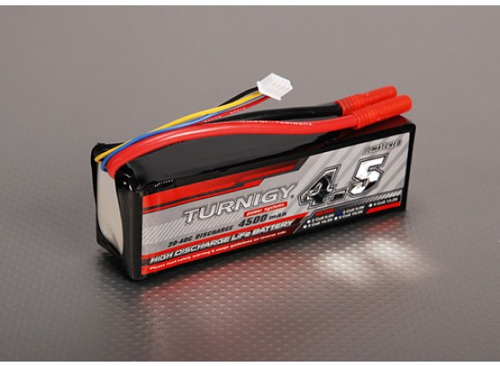 Turnigy 4500mAh 3S2P 30C LiFePO4-Pack