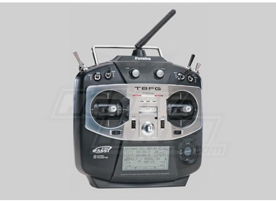Futaba T8FG Transmitter w / R6008HS 2,4-GHz-Empfänger (Modus 1)