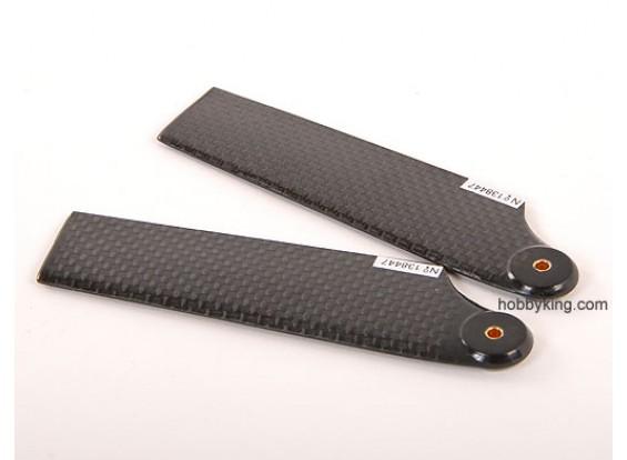 93mm WIG-Carbon-Faser-Endstück-Blatt
