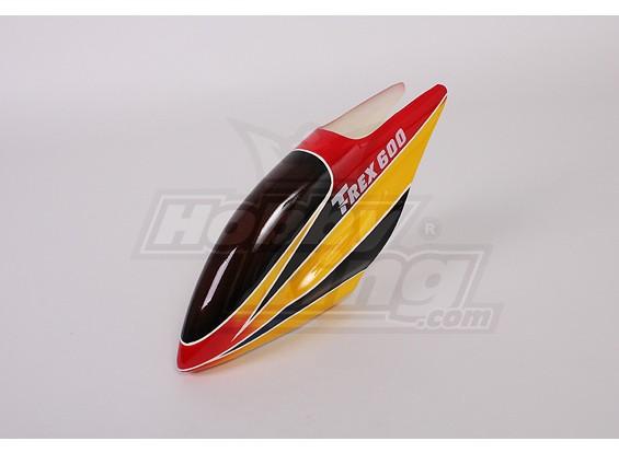 Fiberglass Canopy für Trex-600 Elektro