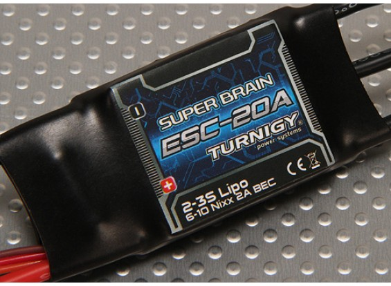 Turnigy Supergehirn 20A Brushless Regler