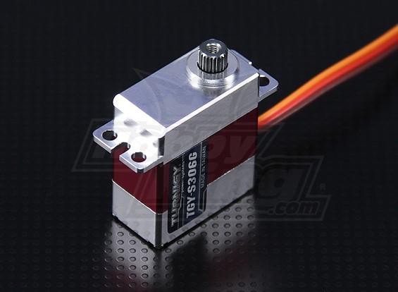 Turnigy ™ TGY-306g Ultra Fast / High Torque DS / Mg-Legierung Cased Servo 3kg / 0.06sec / 21g