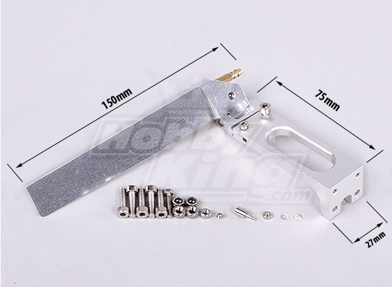 150 mm Seitenruder - Anzug Hobbyking Vanquish 1075MM BOOT