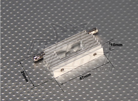 CNC Wassergekühlte 28mm Motorhalterung