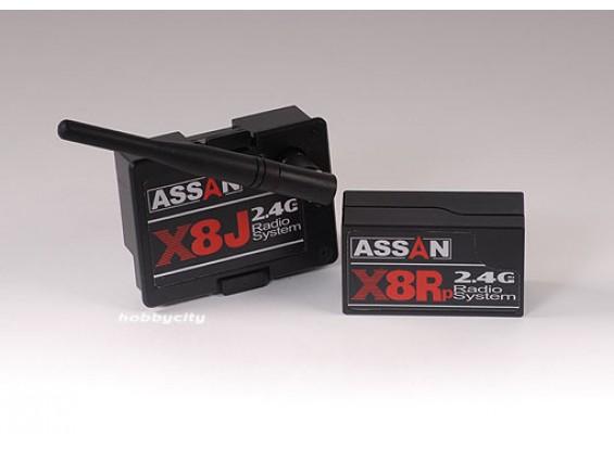 X8 Kit 2,4 GHz 8-Kanal-JR Module w / Rx Parkflyer