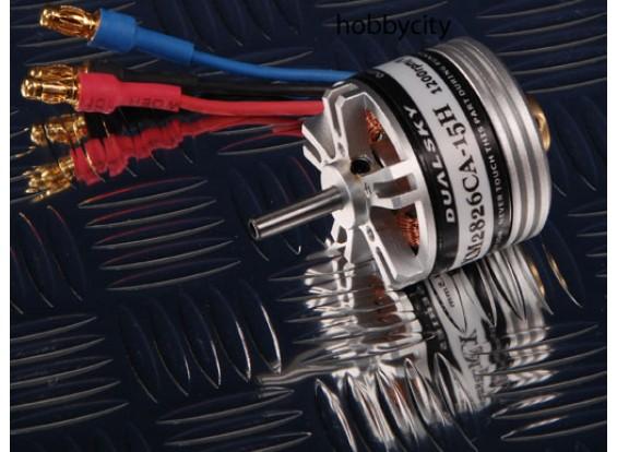 Dualsky XMOTOR Hohlwelle XM2826-15H