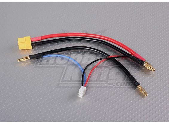 XT-60 Kabelsatz für 2S Hardcase Saddle-Pack Lipo Batterien
