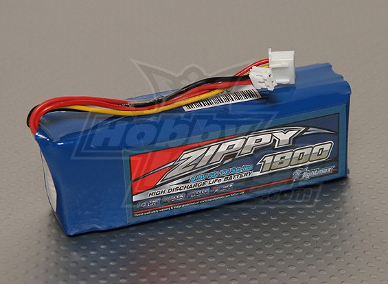 ZIPPY FlightMax 1800mAh 9,9V 5C LiFePo4 TX-Pack