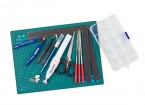 14 Piece Hobby Tools Set w/ Mini Rotary Tool