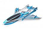 H-King Arctic Cat Water Plane - Glue-N-Go - Foamboard PP 820mm Blue (Kit)