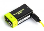 Znter 9V 400mAh USB Rechargeable LiPoly Battery (1pc)