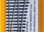 Micro Engineering HO Scale Code 83 Nickel Silver #5d Intermediate Ladder Track System R/H Turnout w/Metal Frog (14-717)