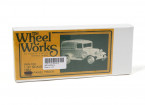 Micro Engineering HO Scale Wheel Works 1934 Ford Panel Truck Kit 1pc (96-102)