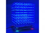 3D8 8X8X8 LED-Musik MP3-DIY-Kit mit 3 mm Fall