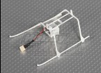 Solo Pro FP II Landing Skid & Battery Rahmen w / Stecker