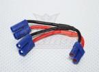 EC5 Batteriekabel 12AWG für 2 Packs in Parallel