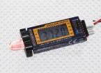 Hobbyking ™ Cellmeter-6 Lipo / Life / Li-Ionen-Zelle Checker & Alarm