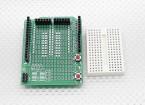 Kingduino Prototyp Schild w / Expansion Breadboard