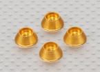 Alloy Cone Unterlegscheibe (Gold) (4 Stück)