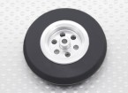 Turnigy Skala Jet Alufelge Thin w / Gummi-Reifen (45 mm)