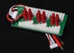 Hobbyking Parallel-Brett für 6 Packungen 2 ~ 6S (HXT4mm) Lade