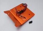 CNC Dekoration Dach mit LED-Licht-Set (orange) - Baja 260 und 260S