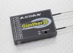 Assan Gunther 8 2,4 GHz FASST Kompatibel 8CH S.BUS Empfänger