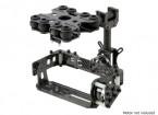 Stoßdämpfende 2 Achse Brushless Gimbal Kit für Kartentyp-Kameras - Carbon Fiber Version