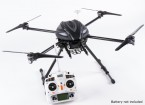 Walkera QR X800 FPV GPS QuadCopter, Einziehfahrwerk, DEVO 10, w / out Batterie (Mode 2) (Ready to Fly)