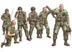 Italeri 1/35 Skala US Paratroopers Plastikmodellbausatz (6pc)