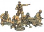 Italeri Maßstab 1:35 Cannone Da 47/32 Mod. 39 mit Besatzung Plastikmodellbausatz