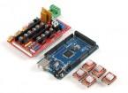 3D-Drucker Control Board Kit 2560 R3 Master-Steuerung und RAMPS 1.4 plus4988 Antrieb (mit Kühlrippe)