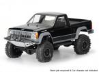 "Pro-Line Jeep Comanche vollwertiges Bett Clear Body Shell 1/10 für 12.3 ""Radstand Maßstab Crawlers"