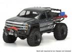 """Pro-Line Chevy Silverado Clear Body Shell für SCX10 Trail Honcho (12.3 """"Radstand)"""