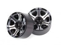 1/10 Scale Off Road Rock Crawler Beadlock Alloy Rims (2pcs)