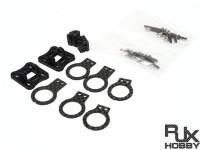 RJX Shock Absorbing Camera Mount to suite 3D 7 Carbon fiber HS1177 Aomway Camera (2pcs)