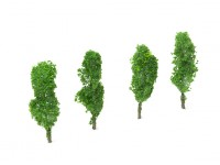 HobbyKing Model Railway Scale Trees 80mm (4 pcs)
