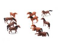 1/87th (HO scale) Assorted Horses (10pcs)