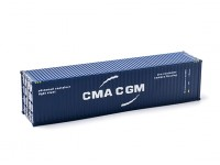 HO Scale 40ft Shipping Container CMA CGM