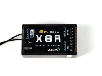 FrSky X8R 8/16Ch S.Bus ACCST Telemetry Receiver W/Smart Port (no antenna cover) EU Version