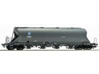 Roco/Fleischmann HO Double Bogie Coal Dust Carrier Wagon DB AG (KVG)