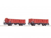 Roco/Fleischmann HO 2 Piece Gondola Wagon Set CSD