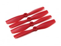 DIATONE Bull Nose Kunststoff Propellers 5040 (CW / CCW) (Rot) (2 Paar)